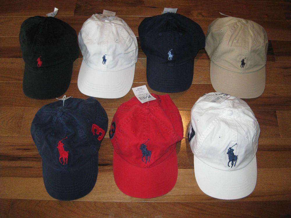 8a423ba2bdb NWT New Polo Ralph Lauren Hat Baseball Cap Hat Adjustable One Size Fits All   PoloRalphLauren  BaseballCap