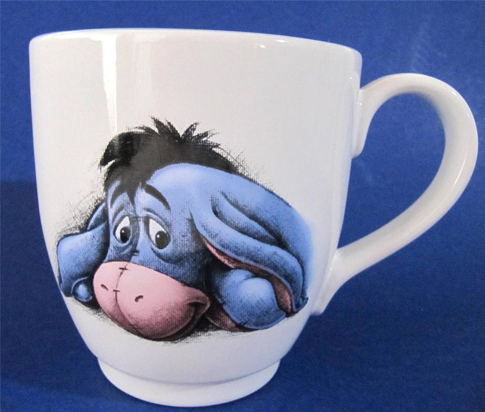 EEYORE Coffee Mug Cup Super Large Size Holds 16 oz Disney
