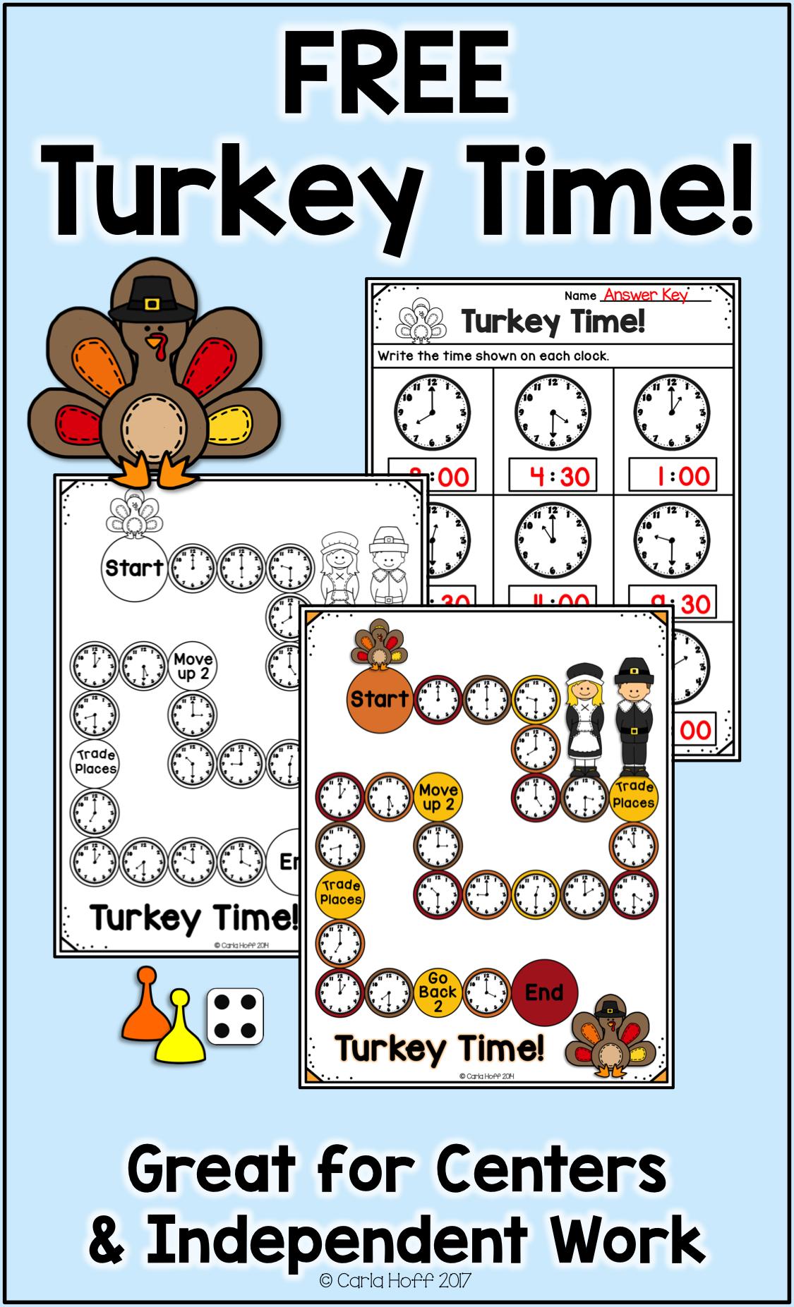 Free Thanksgiving Telling Time Game Thanksgiving Math Thanksgiving Math Activities Thanksgiving Math Games [ 1853 x 1125 Pixel ]