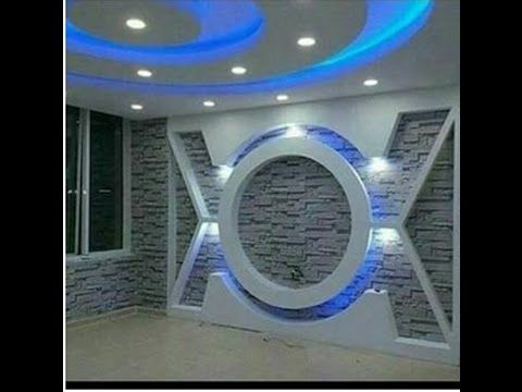 احدث ديكورات جبس بورد 2017 X2f 2018 Youtube False Ceiling Design Ceiling Design False Ceiling Living Room