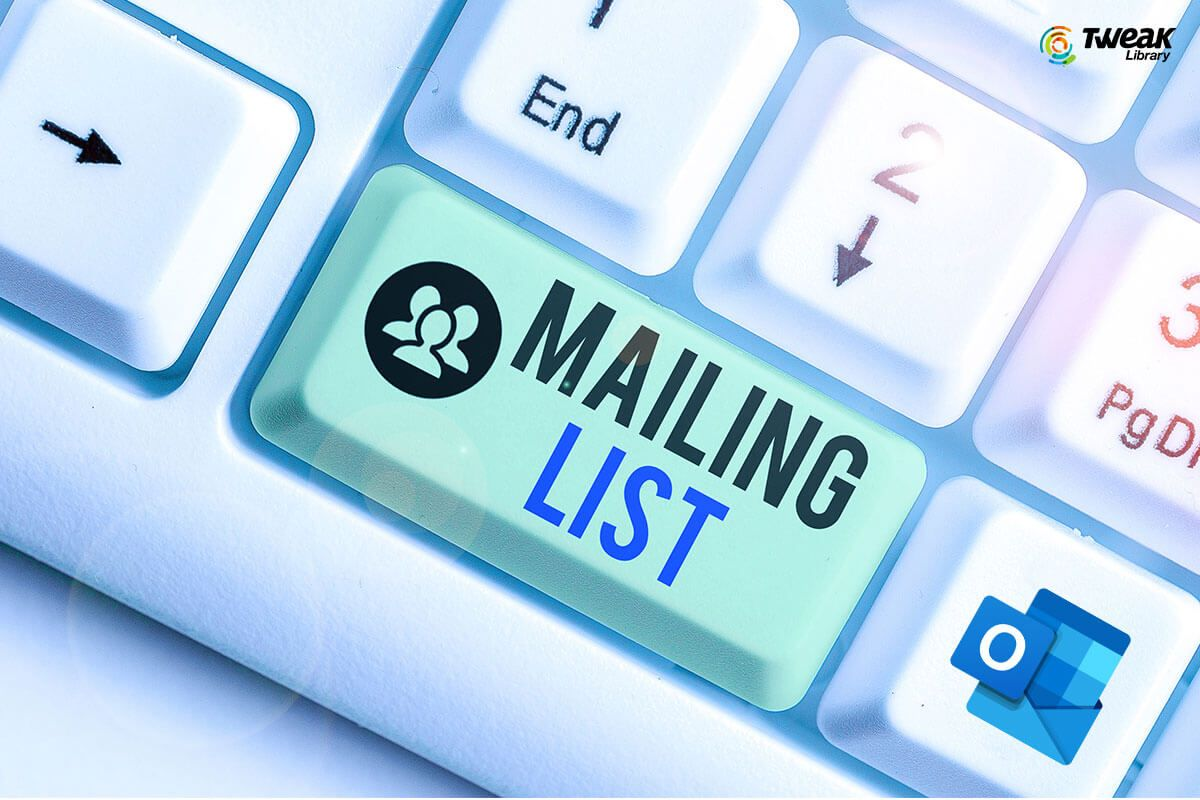 How To Create A Distribution List In Outlook In 2020 Create Email Bulk Email List