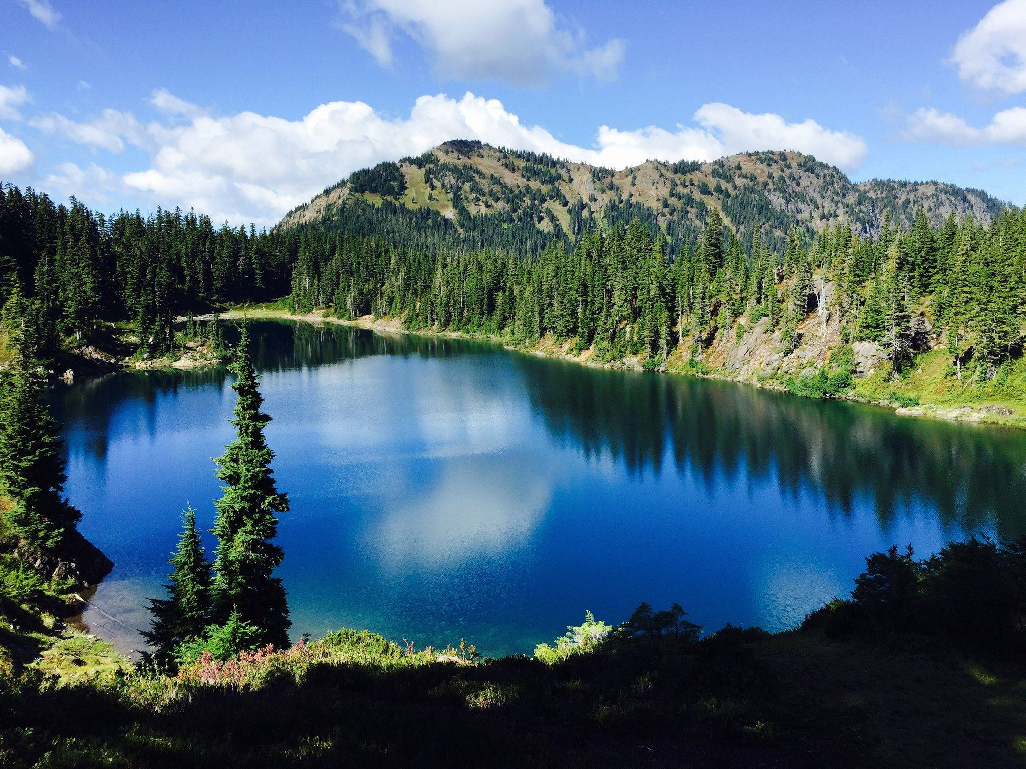 Chain Lakes Loop — Washington Trails Association Lake