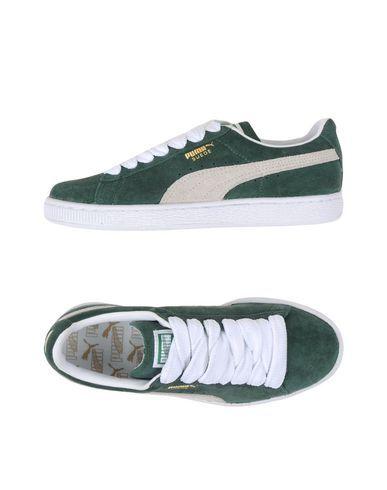 Zapatillas de deporte en verde claro con lazo de ante de Puma Xpem9MTDh