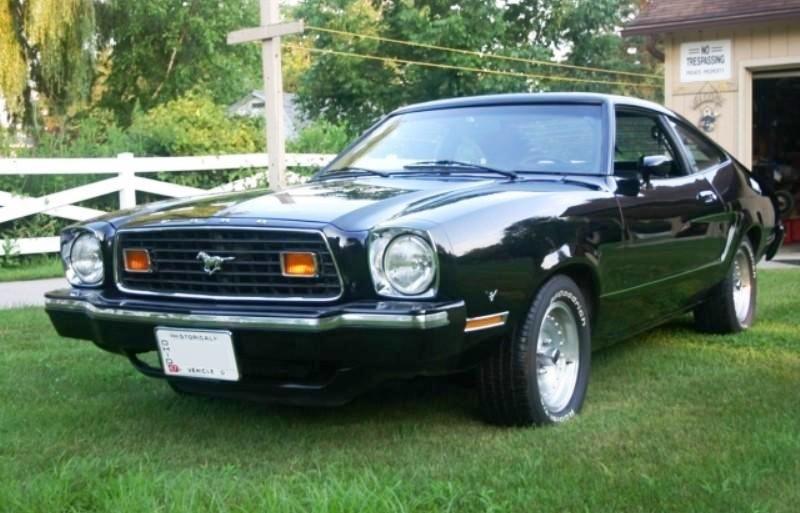 1976 Mustang Black Mustang Mach 1 Black 1976 Mustang Ii Mach1