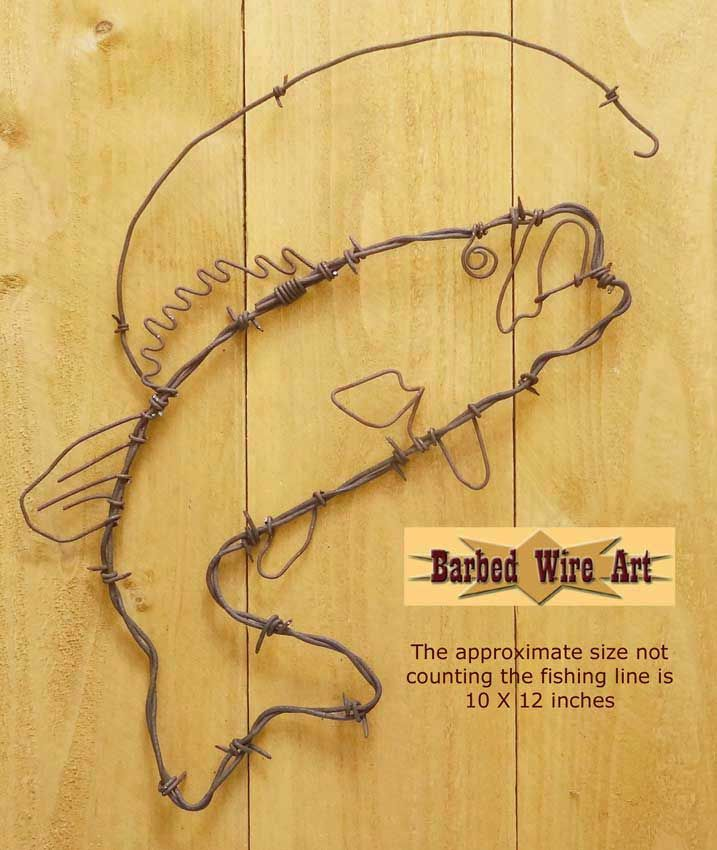Bass ~ Rodeo Wall Hanging Decor | copper project | Pinterest | Wall ...