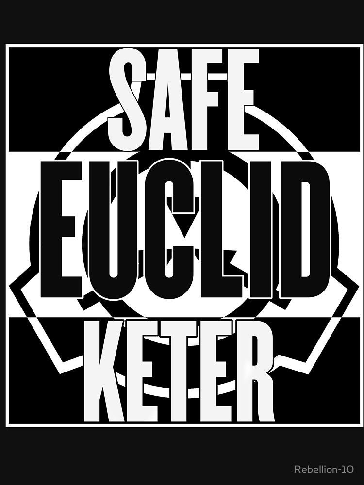 Scp Foundation Safe Euclid Keter Slim Fit T Shirt Scp