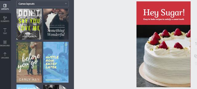 تصميم غلاف كتاب إحترافي بدون خبرة في الفوتوشوب والربح منه Book Cover Desserts Food
