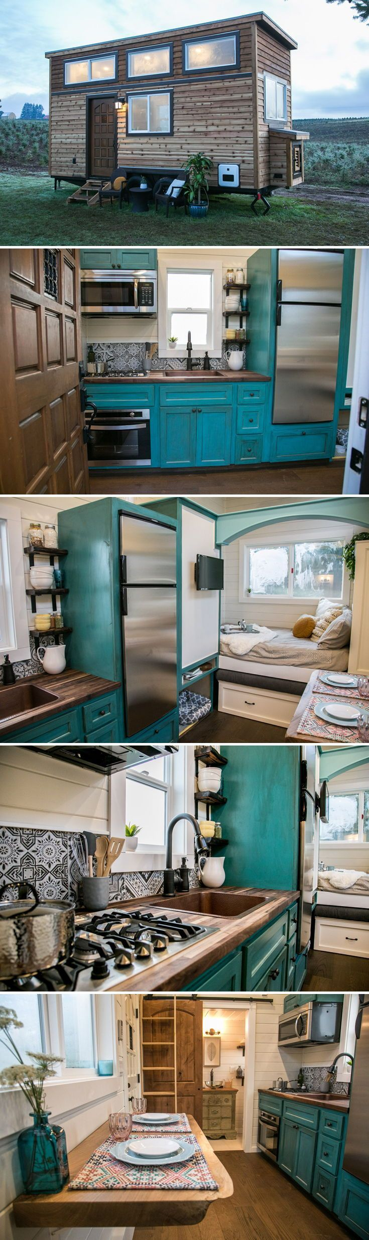 Archway Tiny Home by Tiny Heirloom #tinylivingideas