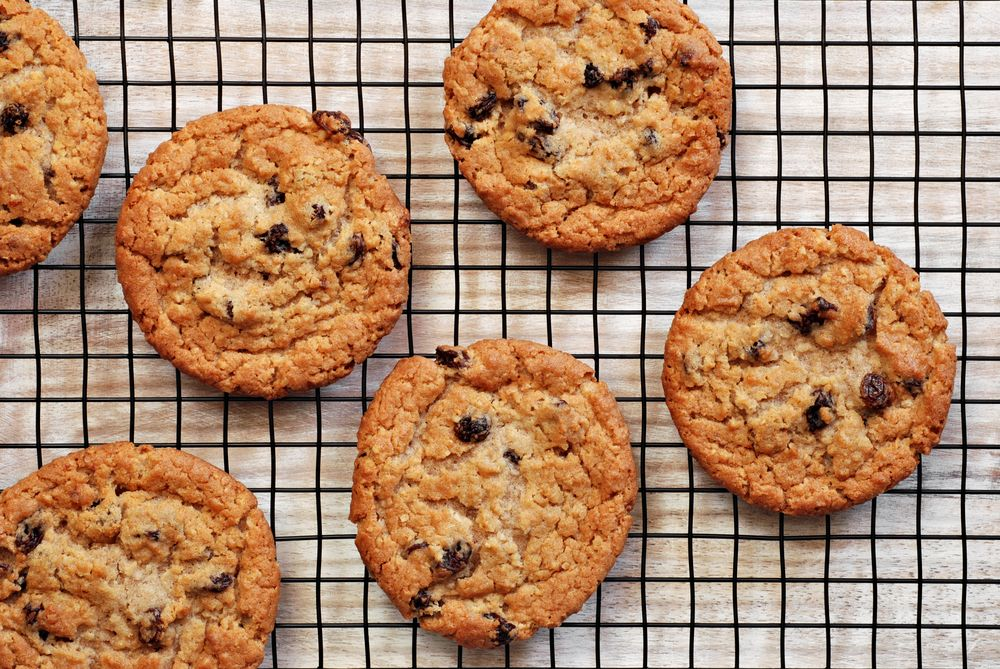 These oatmeal cookies are soft and perfect for little hands and tummies
