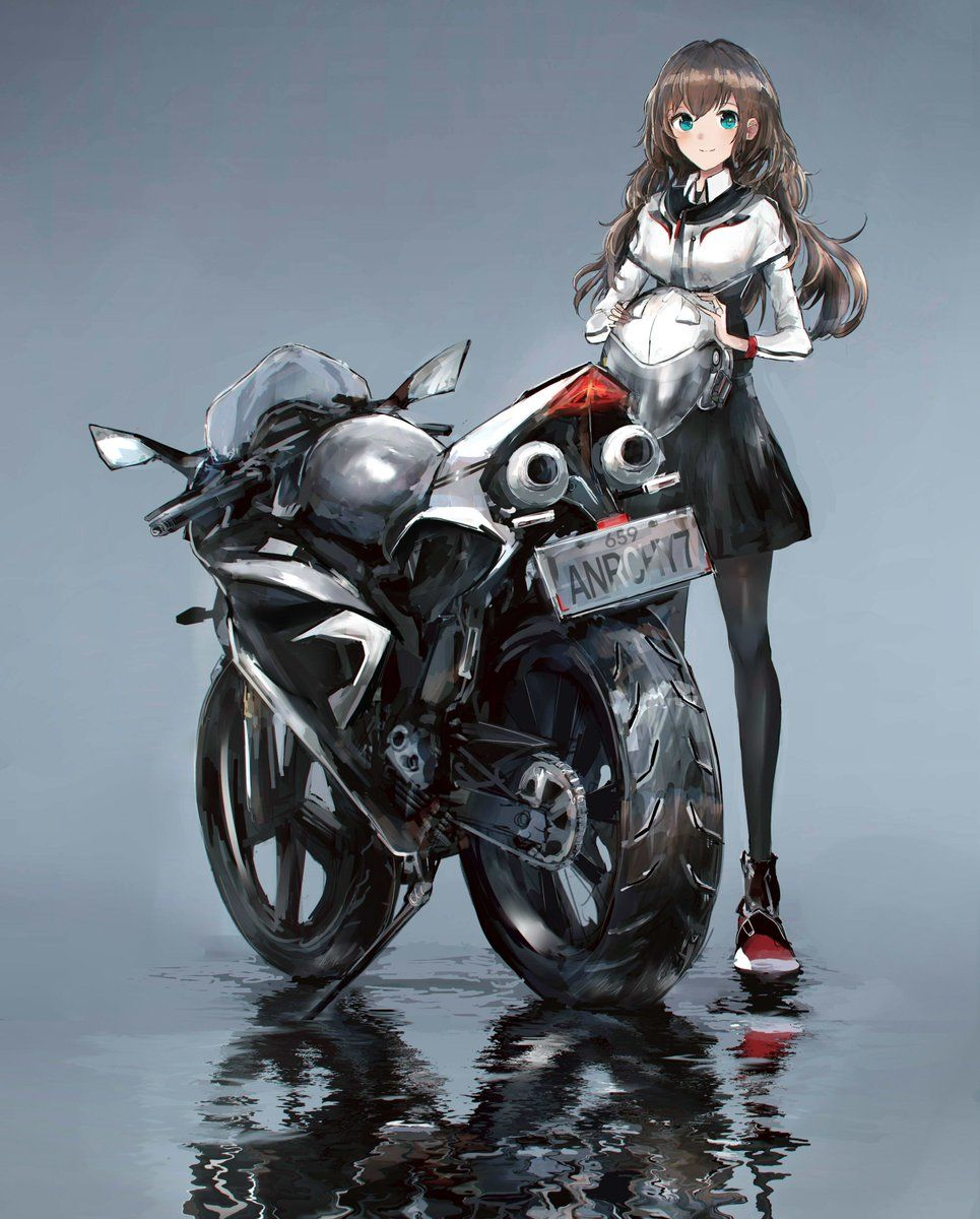 Sspic Twitter Com 68ym1lcudc In 2020 Anime Motorcycle Anime Art