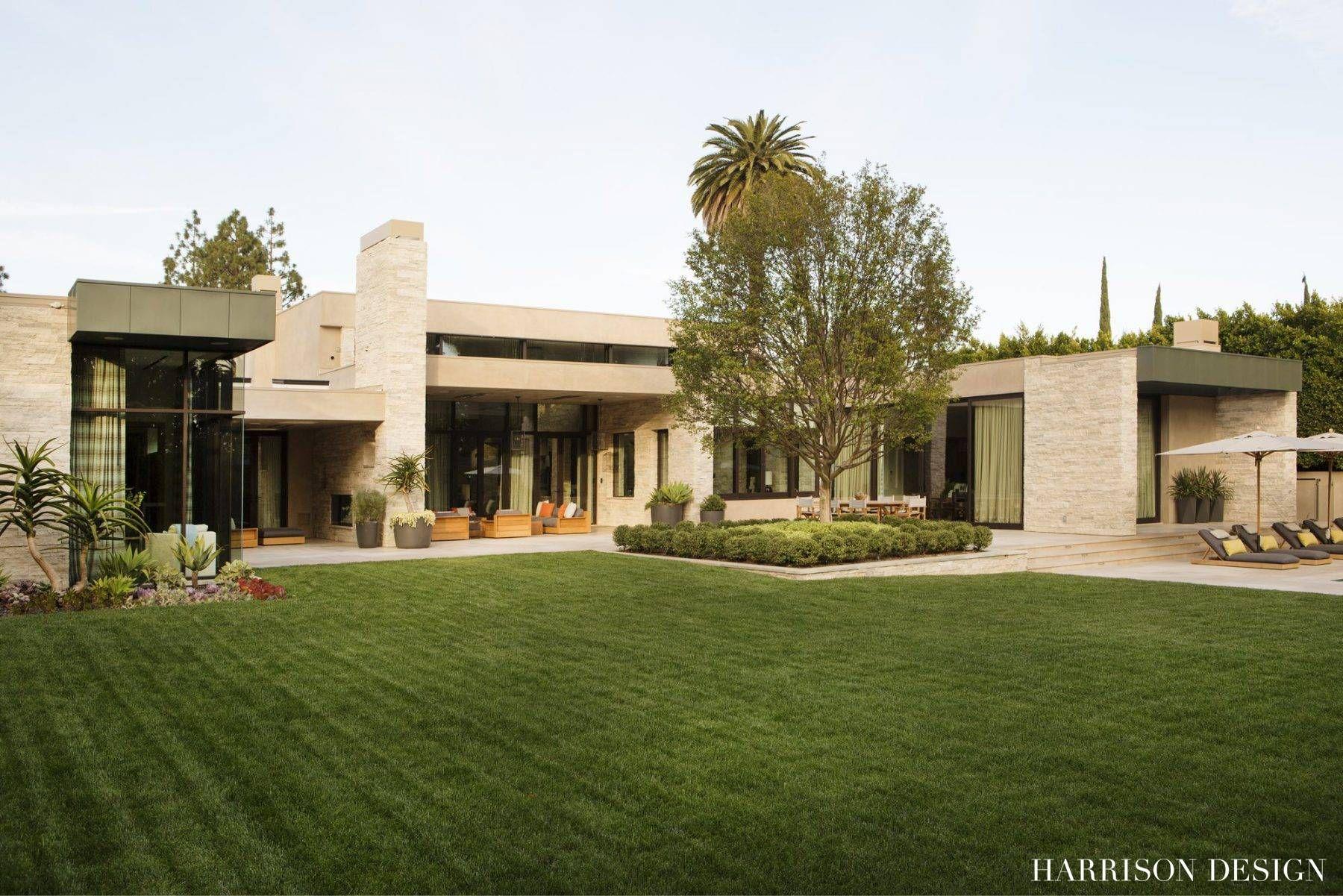 Warm modern mid century estate in beverly hills by harrison design