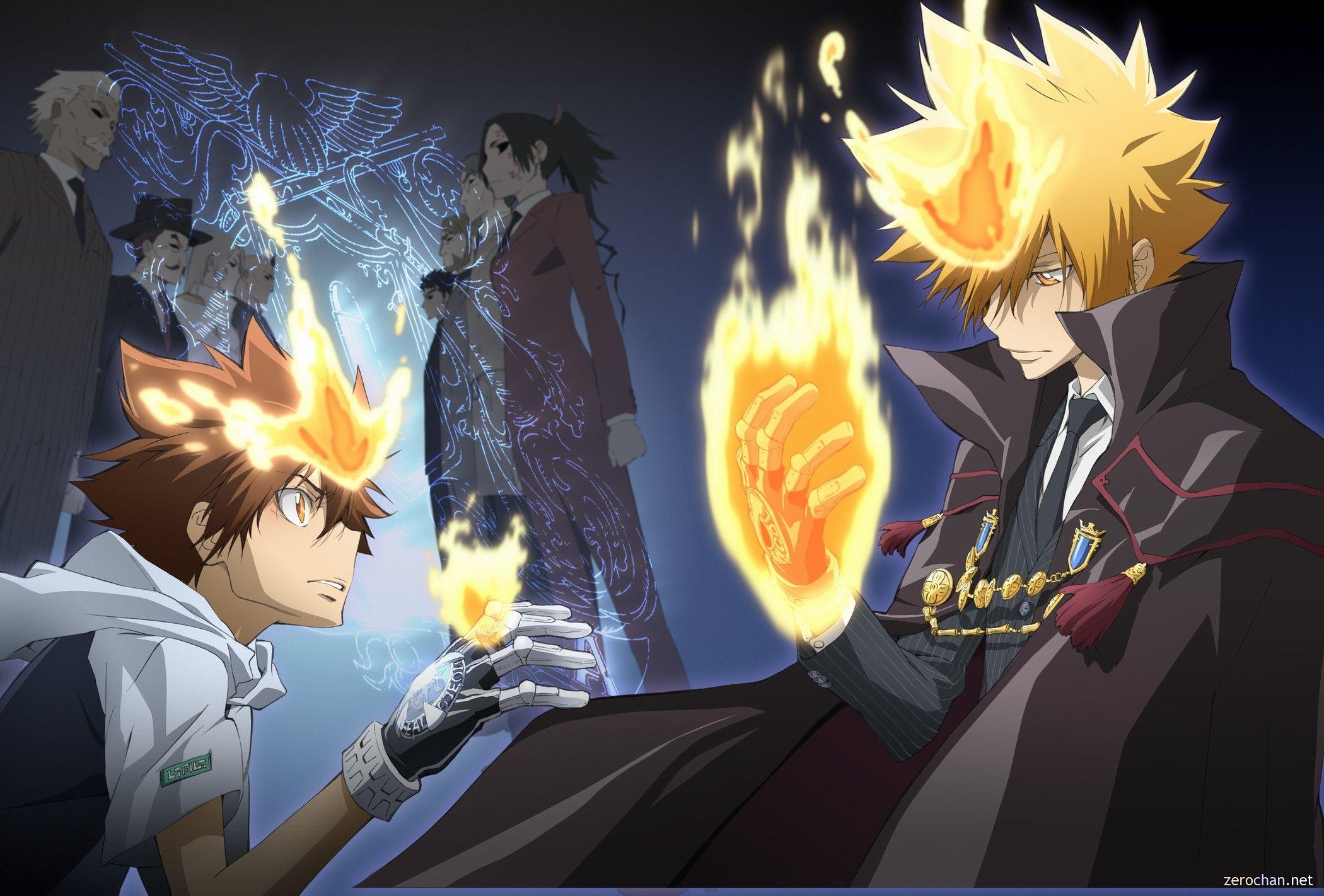 Anime - Katekyo Hitman Reborn! - Hitman Reborn - Tsunayoshi