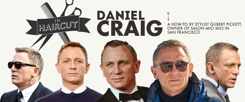 The Haircut Daniel Craig Styling My Dudes Pinterest