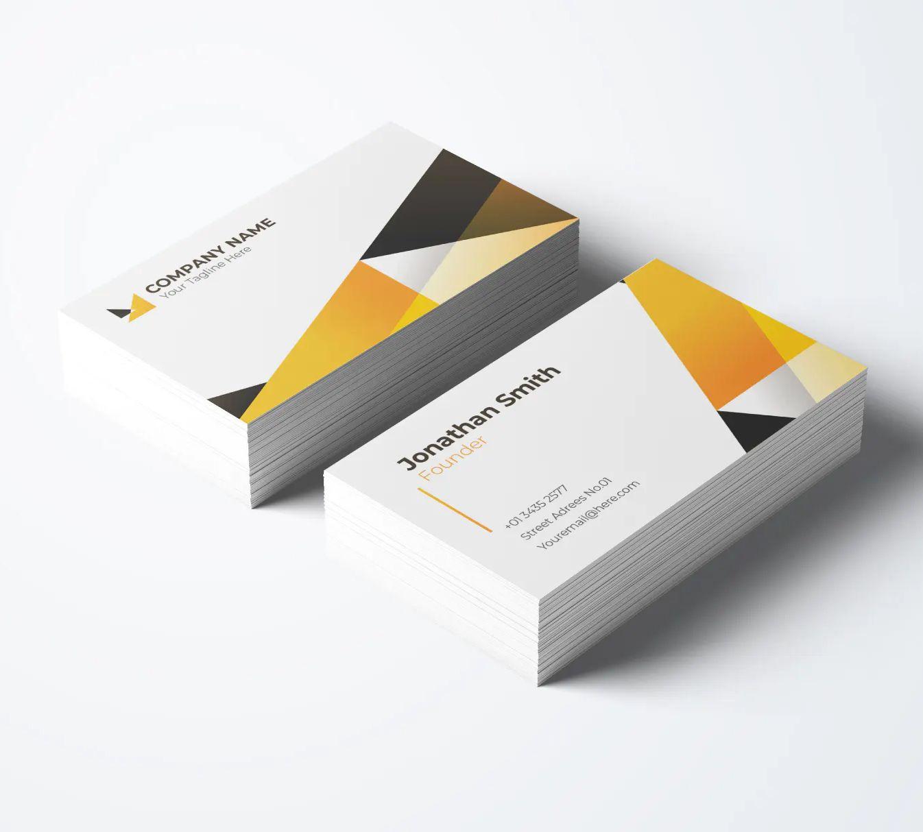 Modern Business Card Template Modern Business Cards Business Card Template Card Template
