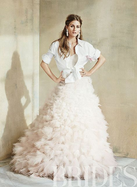 www.thisisglamorous.com | Olivia Palermo in Brides Magazine, May 2014 by {this is glamorous}, via Flickr