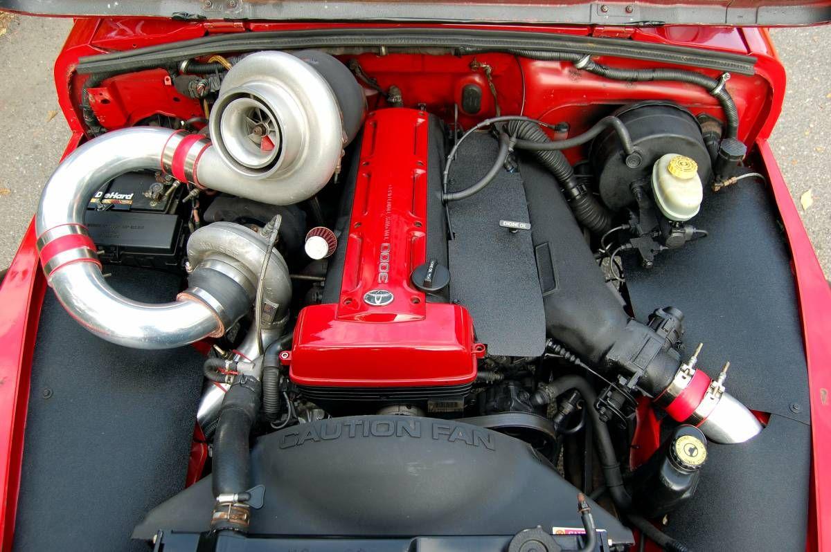 Compound Twin Turbo 3 0 L 2jz Inline Six In A 1997 Jeep Wrangler Jeep Wrangler Jeep 1997 Jeep Wrangler