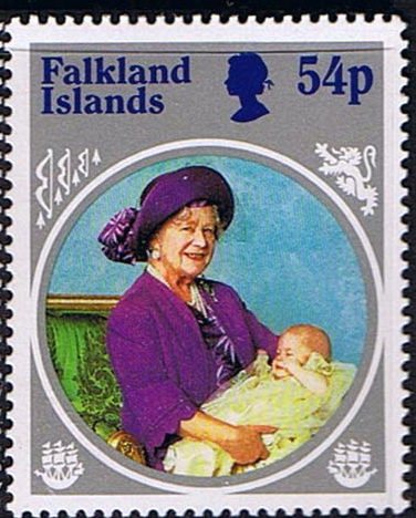 Falkland Islands Queen Mother Life and Times Set Fine Mint SG 505 8 Scott 420 3 Queen Mothers 85th Birthday Other Birthday Stamps HERE