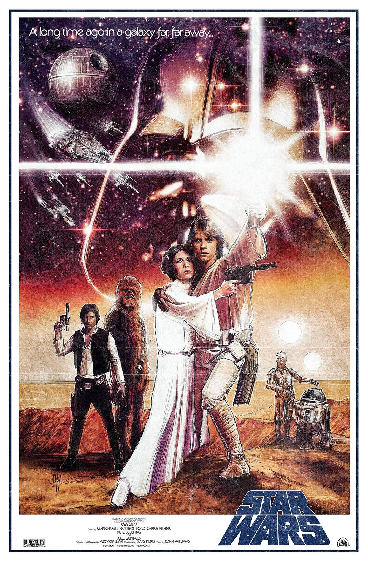 Star Wars Episode Iv A New Hope 1977 1240 X 1894 Hq Backgrounds With Images Star Wars Poster Star Wars Art Star Wars Episode Iv