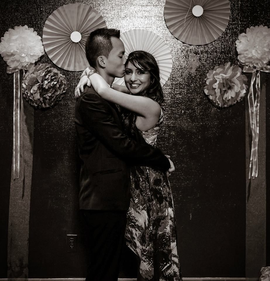 Mexican Fiery Fiesta Themed Couples Wedding Shower - Photo Booth