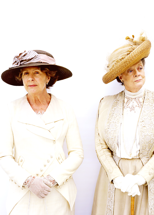 DOWNTON ABBEY. Isobel and Violet.   Downton Abbey ...