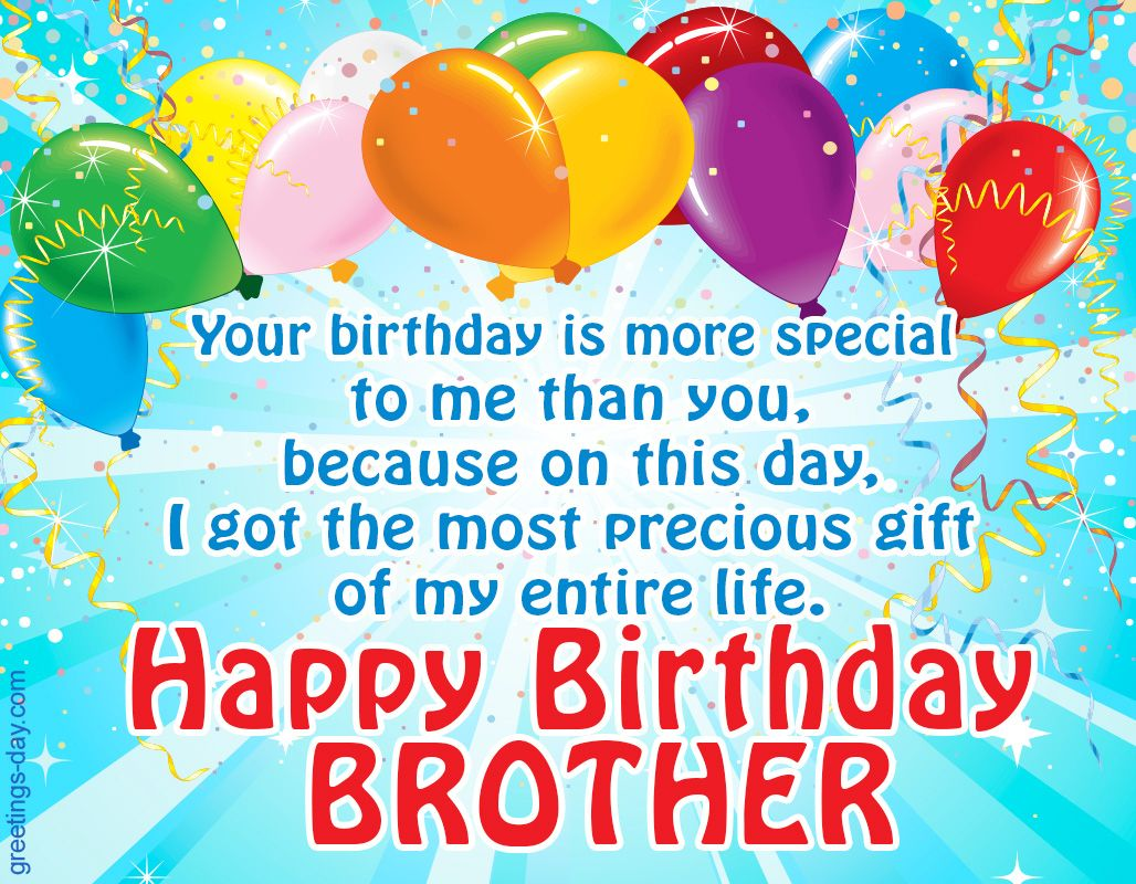 Free Happy Birthday Brother Graphics