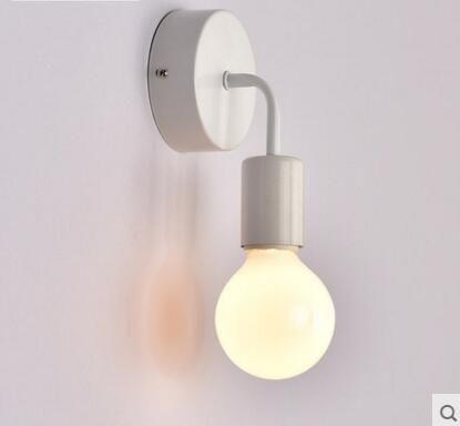 Aliexpress Comprar Apliques Negro Nórdicos Modernos LED Luces - lamparas para escaleras