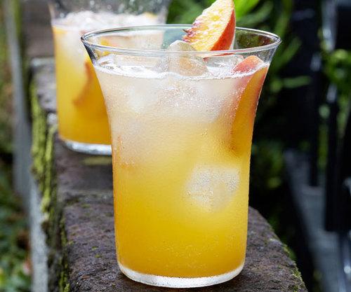 ...Summer Peach Cooler ☺  ✿. ✿  ☂
