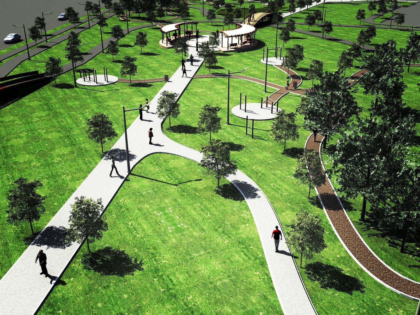 Proyecto lambda dise o de parque urbano en reynosa for Diseno de parques y jardines