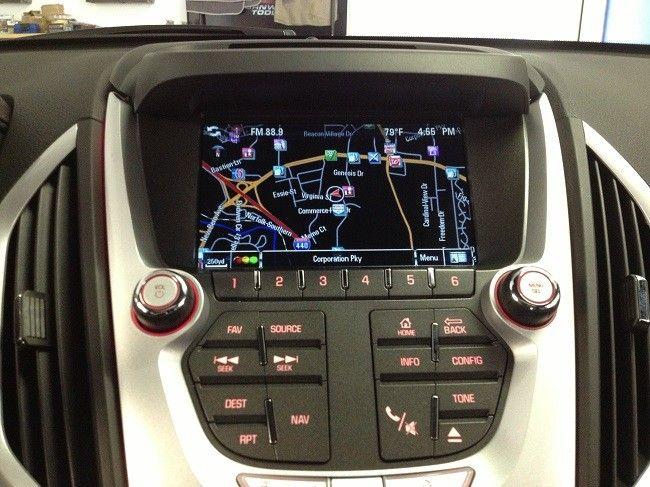 Gmc Terrain Factory Navigation Oem Indash Radio Gps System Gmc