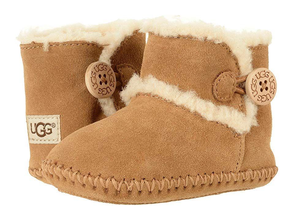 UGG Kids Lemmy II (InfantToddler) Kids Shoes Chestnut