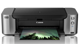 "Canon PIXMA PRO-100 Driver Printer Download  High end specialist photograph publishing nearly 13"" by 19"". It is time and energy to intensify for the substantial formatting, specialist excellent printing device you could have been recently daydreaming about."