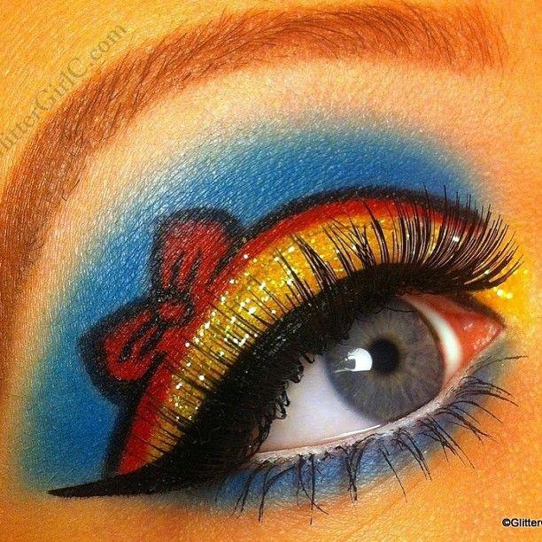 Delightfully cute Snow White inspired look by GlitterGirlC using #Sugarpill Buttercupcake, Love+ and Tako eyeshadows!