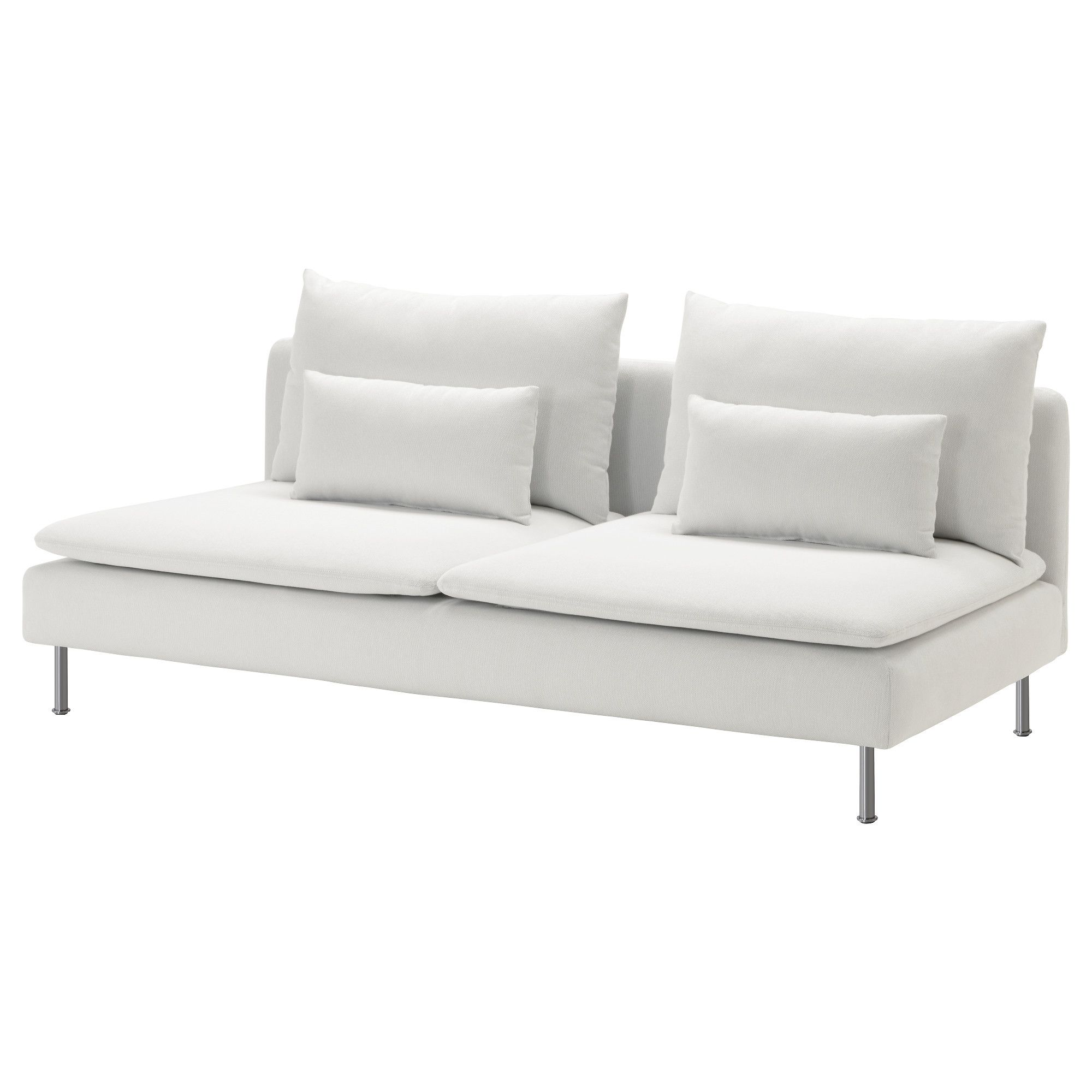 IKEA   SÖDERHAMN, Sofa, Finnsta White , SÖDERHAMN Seating Series Allows You  To Sit Deeply, Low And Softly With The Loose Back Cushions For Extra  Support.