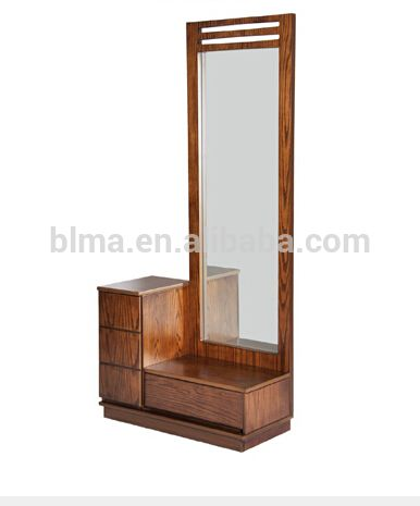 Wall Mounted Dressing Table Cabinet Mirror Modern