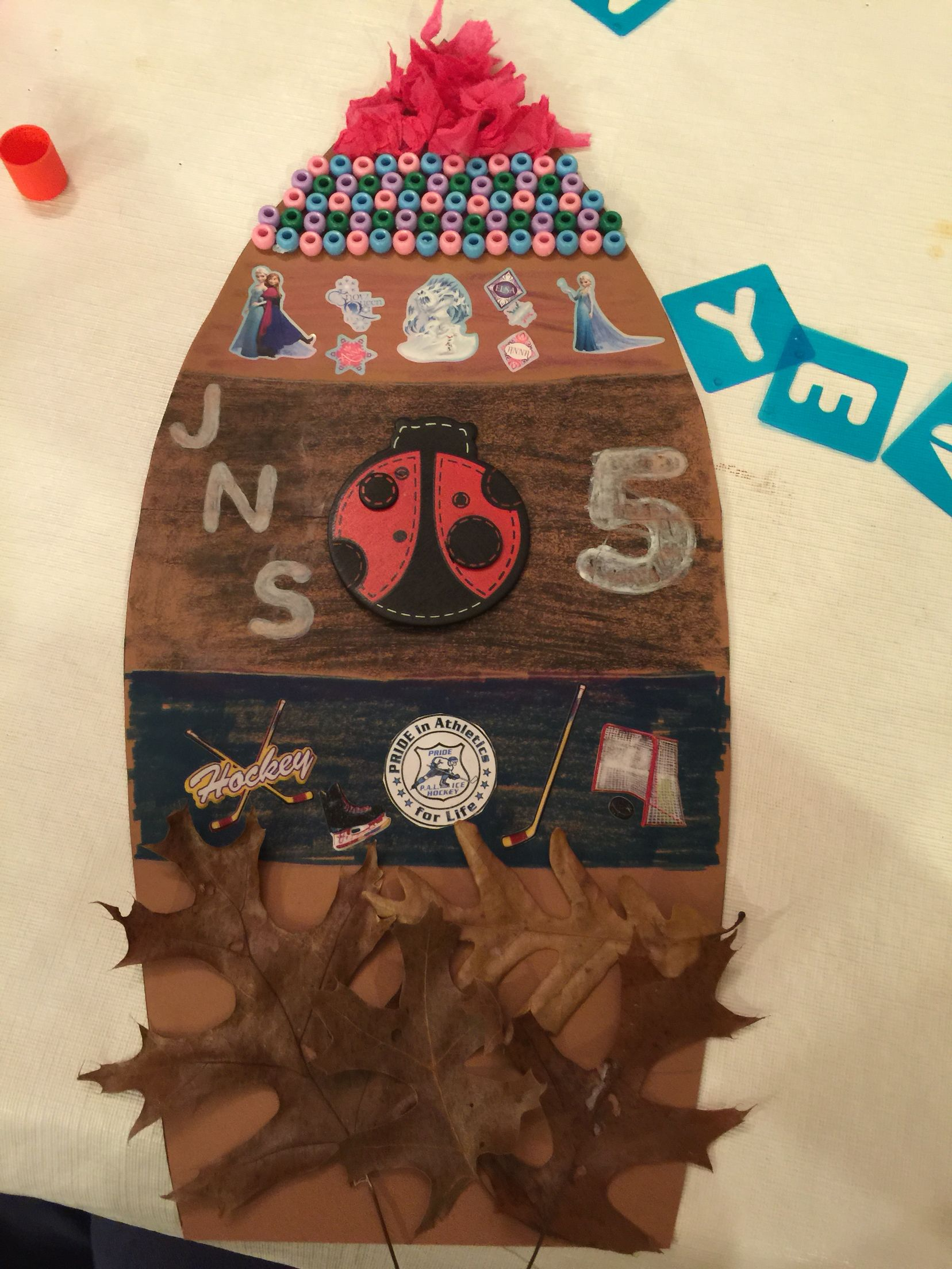 Decorate A Turkey Feather Kindergarten Project