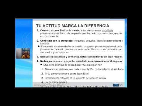 CIERRE Y MANEJO DE OBJECIONES NUSKIN - YouTube