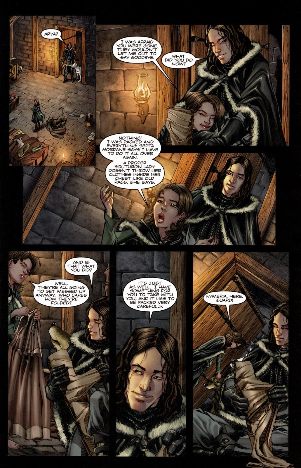 A Song Of Ice And Fire Game Of Thrones Graphic Novel Comic Georgia R R Martin Arya Stark Game Of Thrones Comic Game Of Thrones Arya Stark