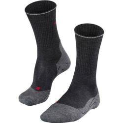 Photo of Falke Herren Trekking Socken Tk2 Wool Silk, Größe 46-48 in Anthra.mel, Größe 46-48 in Anthra.mel Fal