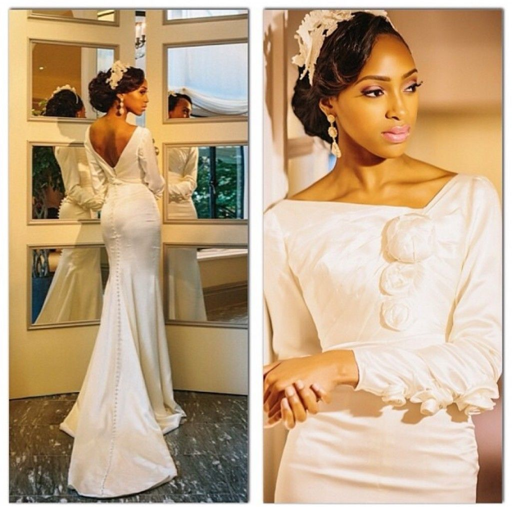 Lace dress nigeria  The astonishing bridal dresses worn by Nigerian brides are all awe