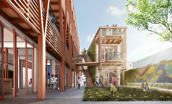 Hok Partners With Usgbc On Design Of New Orphanage And Children S Center In Haiti