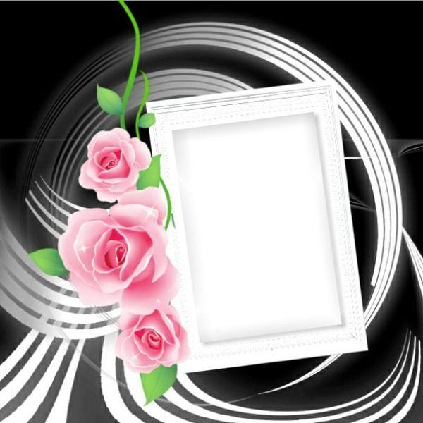 montage photo cadre florale pixiz pixiz pinterest photomontage. Black Bedroom Furniture Sets. Home Design Ideas