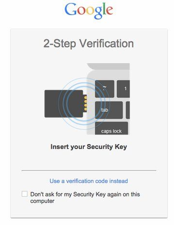 You can now protect your Google account with a USB