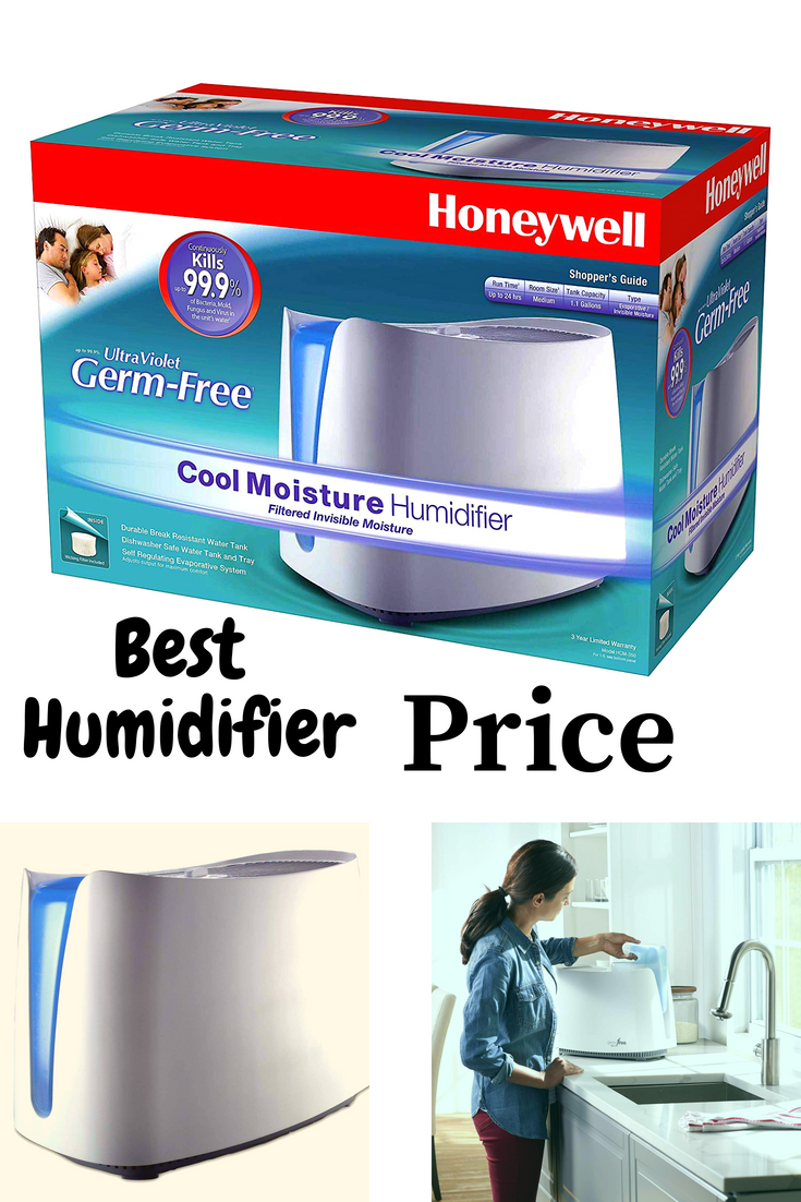 Honeywell HCM350W Germ Free Cool Mist Humidifier White: Buy