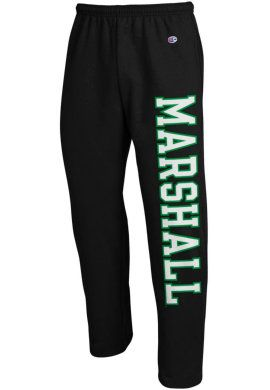 Product Marshall University Open Bottom Sweatpants