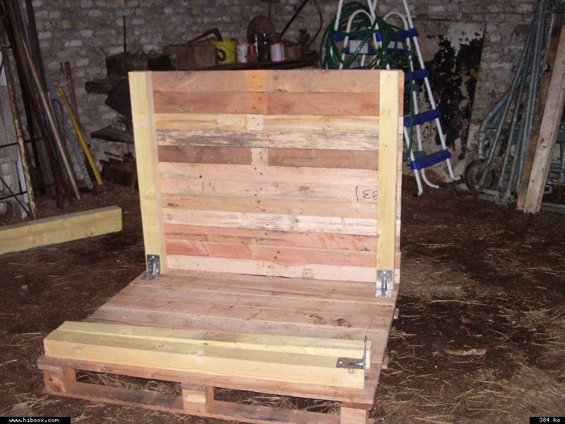 construction d un poulailler avec des palettes de r 233 cup 233 ration gallinette net pour le bien