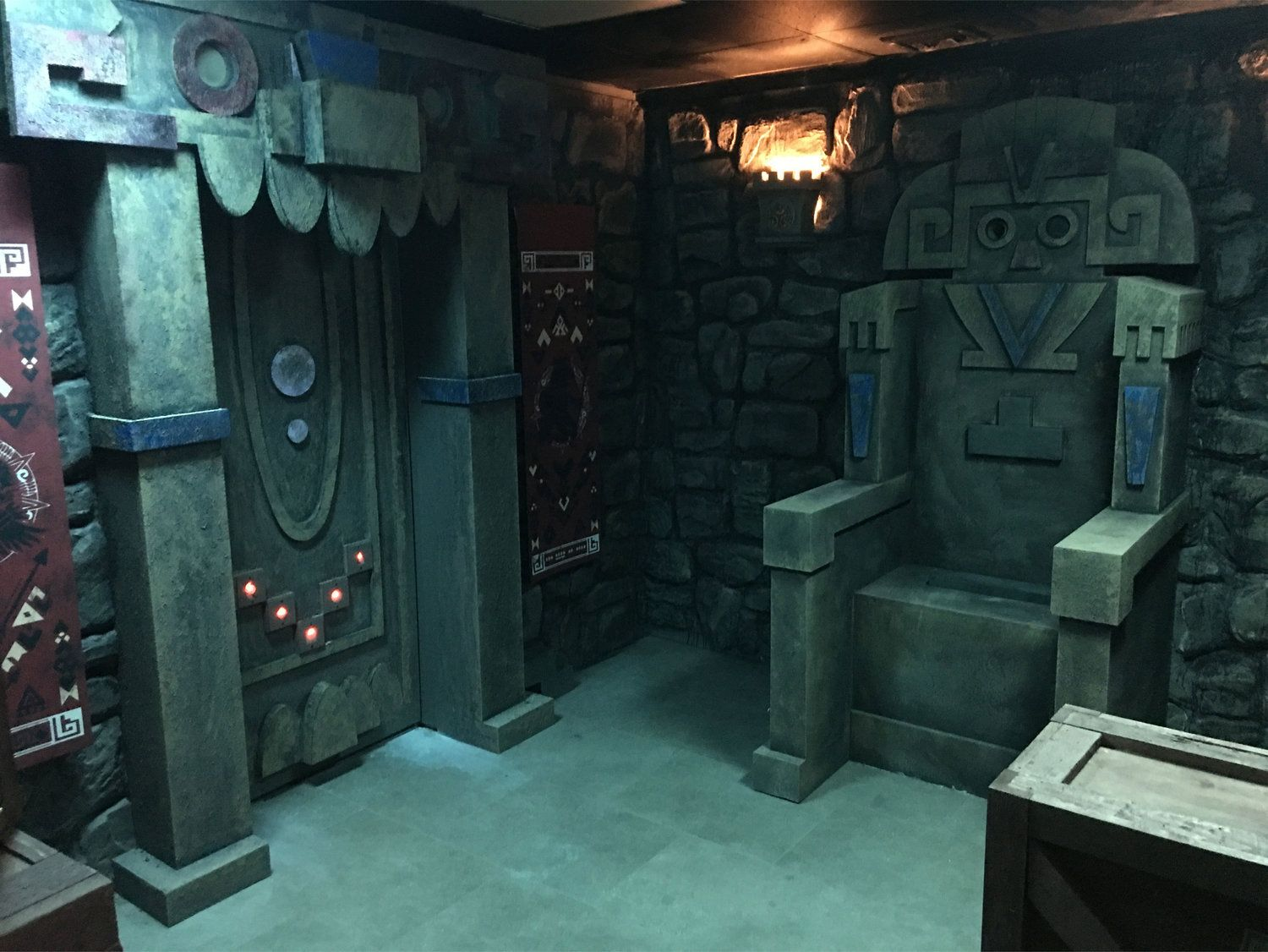 Pin By Mer On Aztec Temple Aztec Room Aztec Temple Escape Room