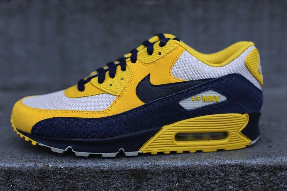 Nike Air Max 90 Premium White Yellow