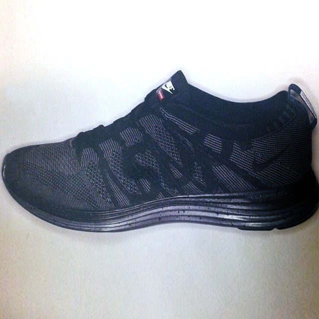 official photos 37bb3 34248 ... coupon code for supreme x nike flyknit lunar 1. taking branding to the  next level