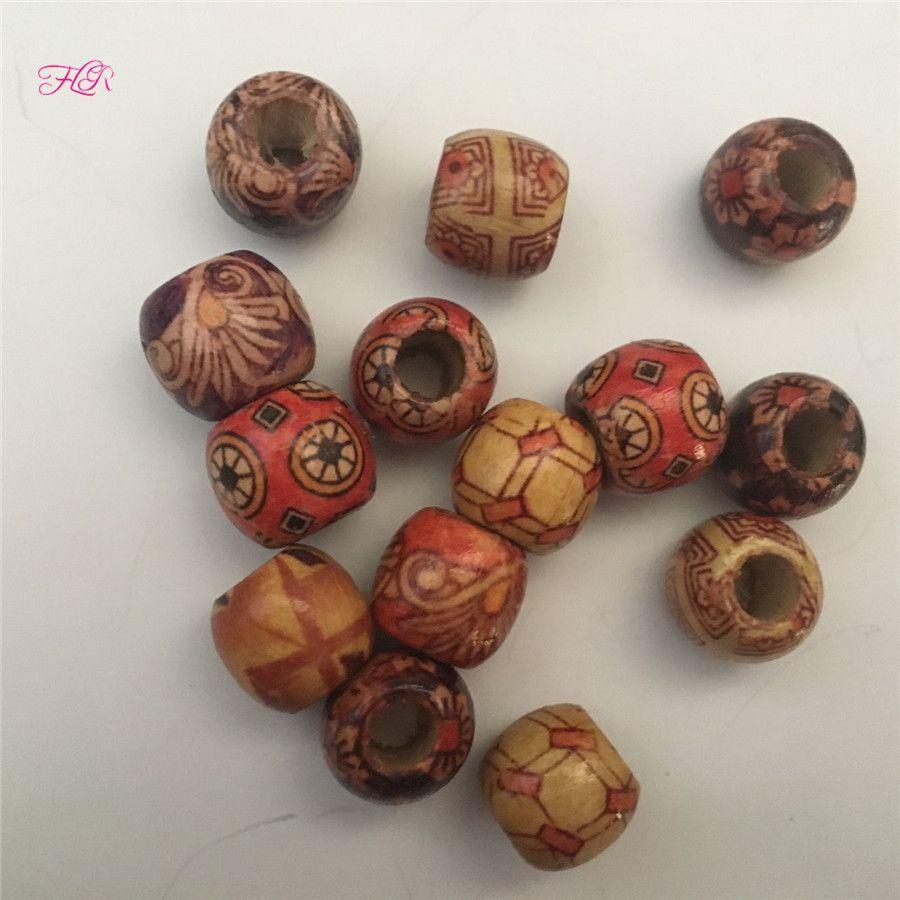 Big hole beads 3-7mm hole metal beads hair beads charm bracelet
