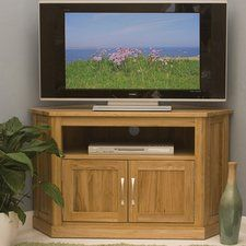 mobel oak tv stand for tvs up to 42